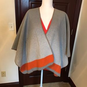 Poncho with coordinating Top